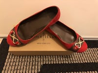 Cole Haan red suede shoe Size: 6 Markham
