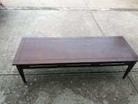 rectangular brown wooden coffee table Delta, V4C 5M6