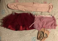 Size 6 Ballet clothing lot , V0C