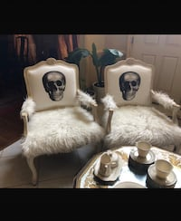 Cool designer chic skull chairs Philadelphia