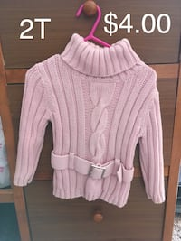 cable knit pink sweater Mooresburg, 37811