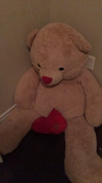 brown and red bear plush toy Halifax, B3L 0B1