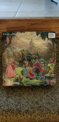 Thomas Kinkade Sleeping Beauty Puzzle Liverpool, 13090