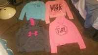 3 vs pink.1 upper armour like new firm on price.  Sand Springs