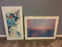 Two Framed Pictures - Art Bowie