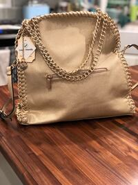 Gorgeous Gold Purse. Chain detail, Brand New. Located in Murray  Murray, 84123