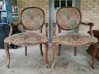 Set of large antique chairs.  Baton Rouge, 70818
