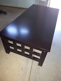 Black wood coffee table Chatham-Kent