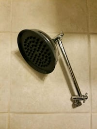 RAIN SHOWER HEAD with extension
