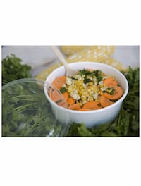 """Round White Soup and Salad Container (Case of 45)(16 oz, 5.9"""" x 1.8"""")  Washington, 20010"""