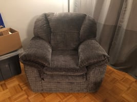 Couch, love seat and chair for sale, must be picked up, no deliveries