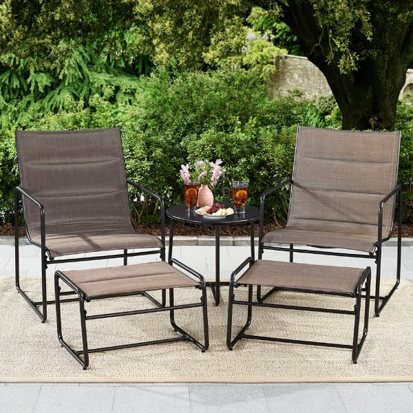 Brand New 5-Piece Sling Outdoor Chat Set