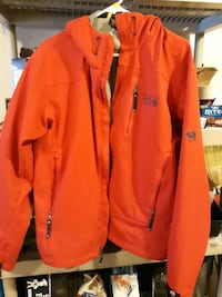 Red men's mt hardware jacket