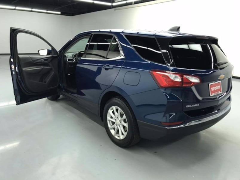 2019 Chevy Chevrolet Equinox Pacific Blue Metallic hatchback 2