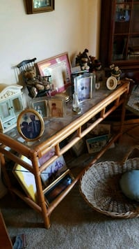 Small wooden and glass table. Only selling table Martinsburg, 25404
