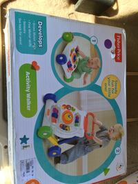 white and red Fisher-Price activity walker box Socorro, 79927