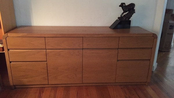 Used Kimball Furniture Vintage Solid Wood Credenza For Sale In San