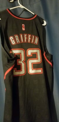 Size Large stitches Blake Griffin Clippers jersey