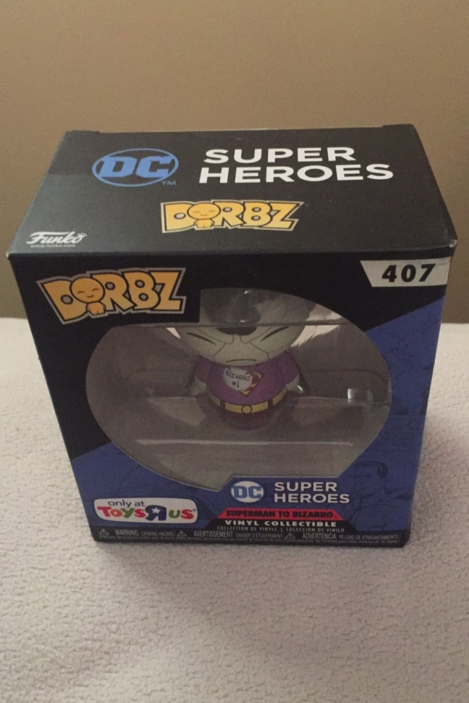 Photo Funko Dorbz Superman to bizarro new in box toys r us exclusive $5.00