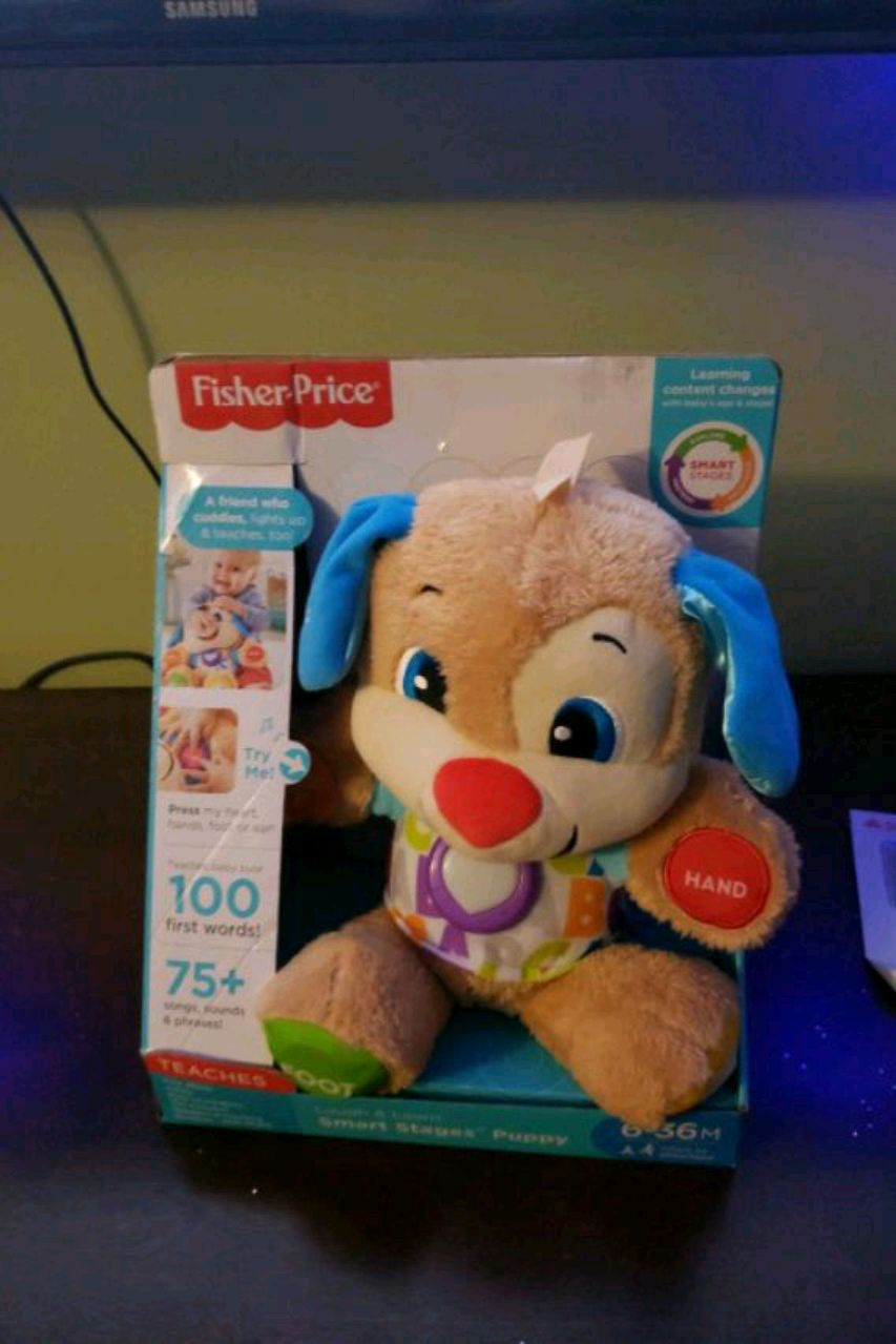 Photo Fisher-Price Laugh & Learn Smart Stages Puppy toy box