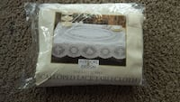 Ivory lace table cover Laurel, 20708