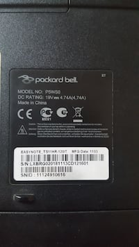 Packard bell easynote ts11hr120it Minerbe, 37046
