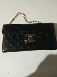 black leather Chanel long wallet Edmonton, T5W 4R8