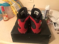 Used Air Jordan's 13 red n black 6 1/2 in boys Atlanta, 30349