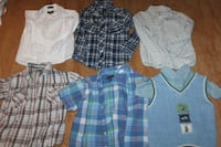 only $12 size 6 dress shirts - boys Vaughan