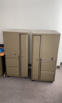 File Cabinets with adjustable open shelves $100 each Mississauga, L5A 2W7