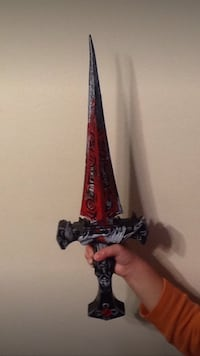 red and black metal short sword Richmond Hill, L4C