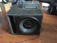 "12"" kenwood subwoofer in box. Comes with free replacement sub Dartmouth, B2W 5X4"