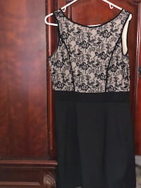 women's black and white floral sleeveless dress Rowland Heights, 91748