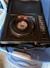 Gasone portable gas stove single burner with case