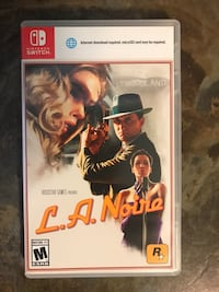 LA Noire Nintendo Switch Lockport, 60441