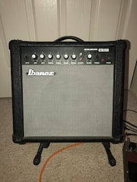 Ibanez 15 watt guitar amp with reverb New River, 85087