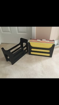 2 Legal sized file holders for $12 each or both for $20.  Vancouver, V5W 1H1