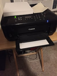 canon white printer with free paper, picture paper and resume paper.  Newburg, 20664