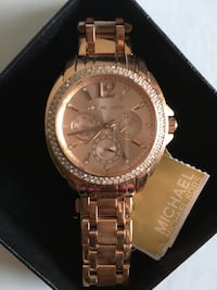 Michael Kors Rose Gold watch brand new Toronto, M4Y