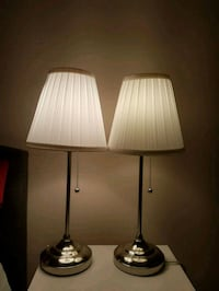 Two IKEA table lamps for $40. Toronto, M2M 4B9