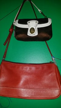 brown and black leather hobo bag Delta, V4C 1C4