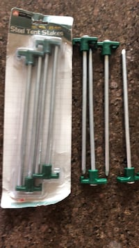 Steel Ground Stakes- 8 total Omaha, 68130