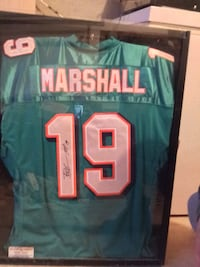 Authentic autographed Brandon Marshall jersey Providence, 02903
