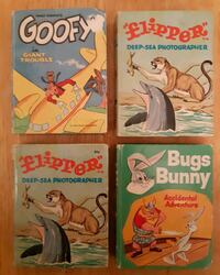 4 Big Little Books Whitman In good condition. Pickup in Newmarket Newmarket, L3Y 3J3
