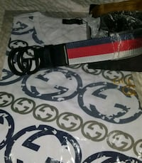 black and red Gucci belt Houston, 77070