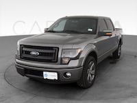 2013 Ford F150 SuperCrew Cab pickup FX2 Pickup 4D 5 1/2 ft Gray Providence