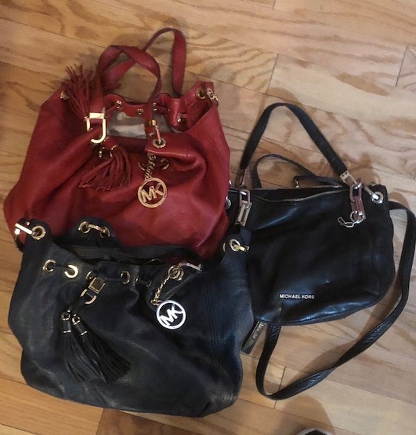 afabcf501736 Used 3 ( Used) Authentic Michael Kors bags for sale in New York - letgo