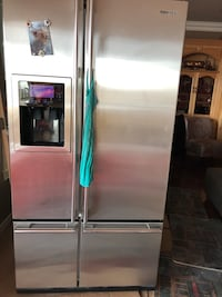 stainless steel french door refrigerator Edmonton, T5Y
