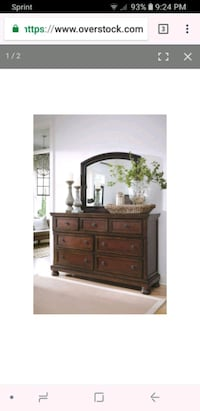 Ashley Furniture Dresser  San Bernardino, 92407