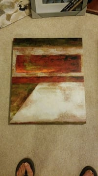 brown and white abstract painting Woodbridge, 22192